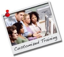 Delivering customized training