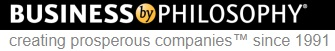The logo of Business by Philosophy