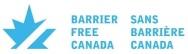 Barrier-free Canada Logo